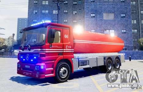 Mercedes-Benz Vanntankbil / Water Tanker für GTA 4