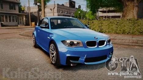 BMW 1M 2011 Carbon pour GTA 4