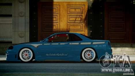 Nissan BNR-34 GT-R für GTA 4 linke Ansicht