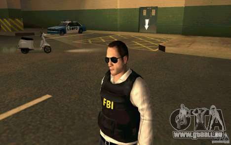 FBI HD pour GTA San Andreas