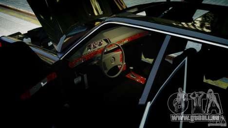 Mercedes-Benz 560 SEL Black Edition pour GTA 4 Vue arrière de la gauche