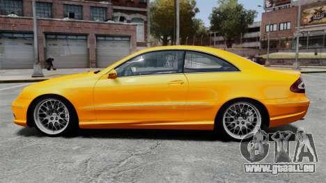Mercedes-Benz CLK 55 AMG pour GTA 4 est une gauche