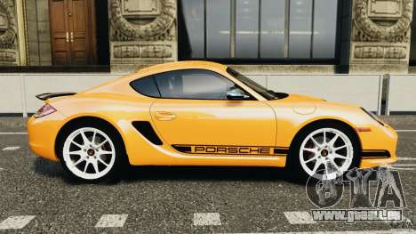 Porsche Cayman R 2012 [RIV] pour GTA 4 est une gauche