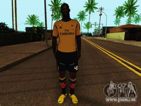 Mario Balotelli v3 für GTA San Andreas