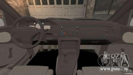 Ford Escort L 1994 Custom pour GTA 4 Vue arrière