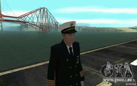 Admiral HD pour GTA San Andreas troisième écran