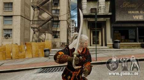 Schwert der Hexer-v2 für GTA 4 Sekunden Bildschirm