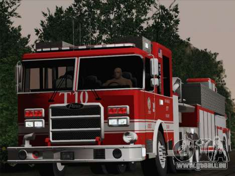Pierce Arrow XT LAFD Tiller Ladder Truck 10 pour GTA San Andreas