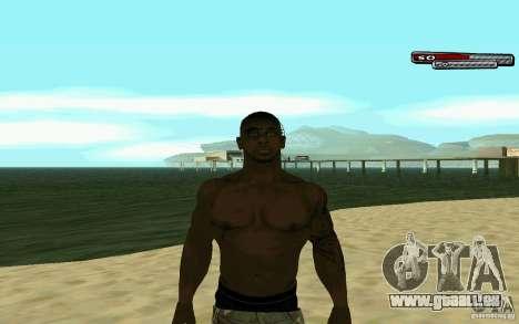 James Woods HD Skin pour GTA San Andreas cinquième écran
