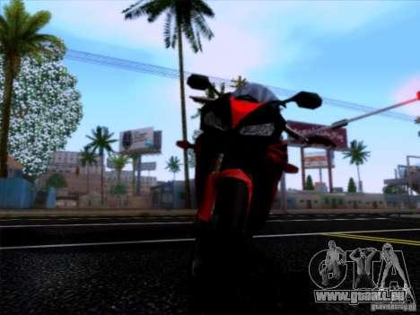 Honda CBR 600 RR für GTA San Andreas rechten Ansicht