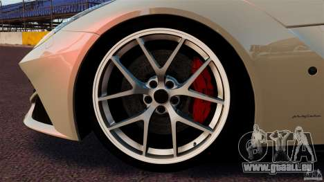 Ferrari F12 Berlinetta DCM pour GTA 4 vue de dessus