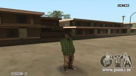 Skin Pack Groove Street pour GTA San Andreas troisième écran