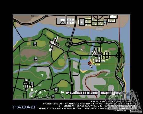 Villa in der Fischerei-Lagune für GTA San Andreas elften Screenshot