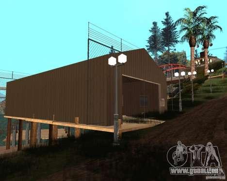 Villa in der Fischerei-Lagune für GTA San Andreas achten Screenshot