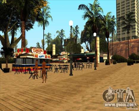 Modern beach in Los-Santos für GTA San Andreas dritten Screenshot