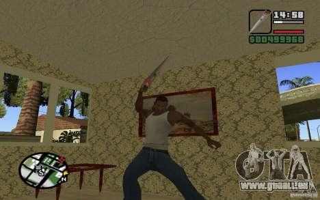 Scie pour GTA San Andreas cinquième écran