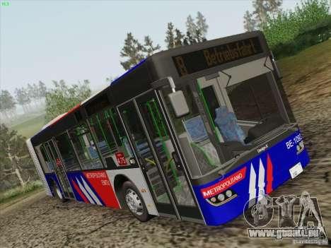 Design X3 pour GTA San Andreas sur la vue arrière gauche