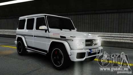 Mercedes-Benz G65 AMG (W463) 2012 v1.2 pour GTA 4