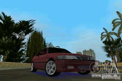 Saab 9-3 Aero 3-door 1999 für GTA Vice City