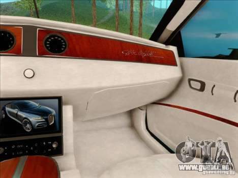Bugatti Galibier 16c pour GTA San Andreas vue de côté