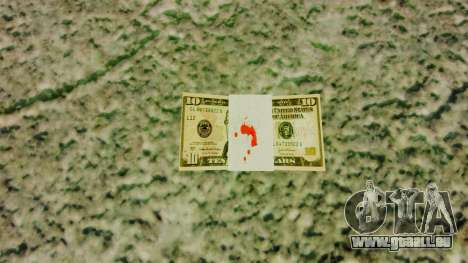 USA-Banknoten im Nennwert von $ 10 für GTA 4