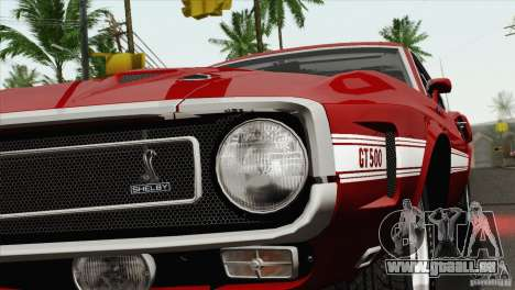 Shelby GT500 428 Cobra Jet 1969 pour GTA San Andreas vue de côté