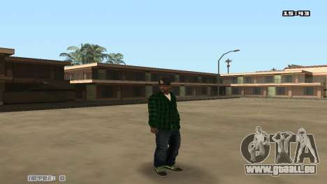 Skin Pack Groove Street pour GTA San Andreas