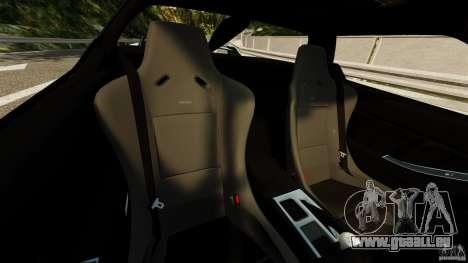 Honda NSX-R GT pour GTA 4 est une vue de l'intérieur