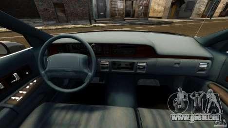 Chevrolet Caprice 1991 für GTA 4 Rückansicht