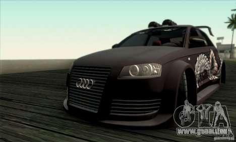 Audi A3 Tunable pour GTA San Andreas vue de côté