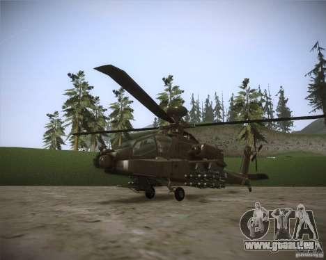 AH-64D Longbow Apache für GTA San Andreas