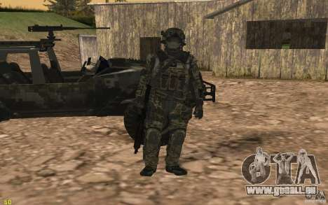 Seals soldier from BO2 für GTA San Andreas