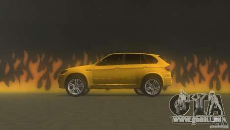 BMW X5 für GTA Vice City linke Ansicht