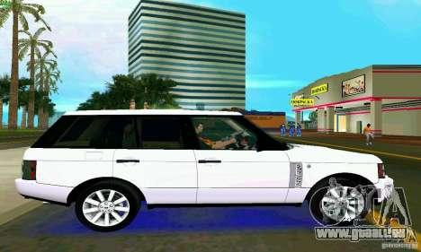 Land Rover Range Rover Supercharged 2008 pour GTA Vice City sur la vue arrière gauche