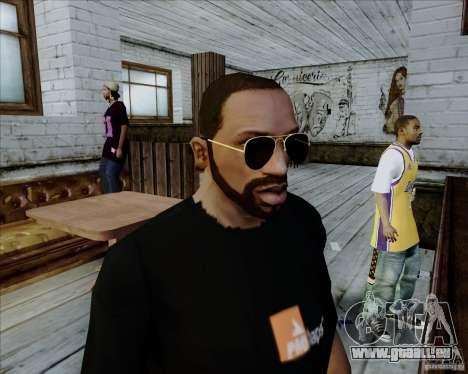 Aviator-Brille für GTA San Andreas