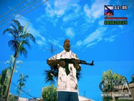 New Weapon Pack pour GTA San Andreas deuxième écran