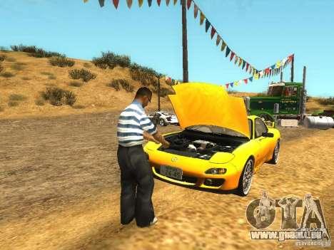 Situation de la vie pour GTA San Andreas deuxième écran