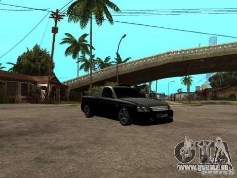 Lada Priora Pickup pour GTA San Andreas