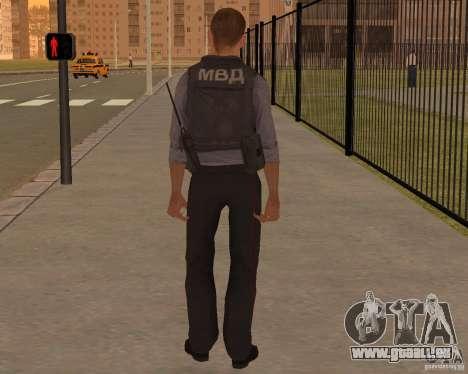 LE MINISTÈRE DES AFFAIRES INTÉRIEURES DE LA RUSS pour GTA San Andreas deuxième écran