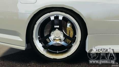 Nissan Skyline GT-R R34 pour GTA 4 est une vue de l'intérieur