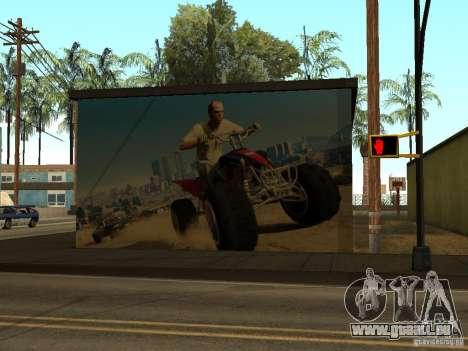 Poster von GTA 5 für GTA San Andreas