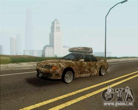 Nissan Skyline R33 Army für GTA San Andreas
