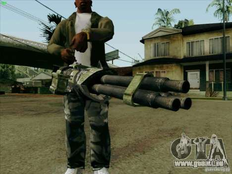 Minigun aus Duke Nukem Forever für GTA San Andreas
