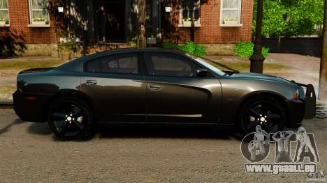 Dodge Charger RT Max FBI 2011 [ELS] für GTA 4 linke Ansicht