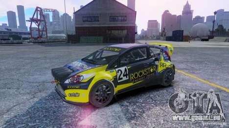 Ford Fiesta Rallycross für GTA 4