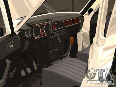 GAZ 24-10 pour GTA San Andreas vue de dessus