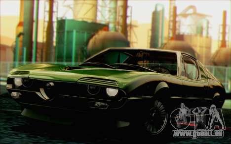 Alfa Romeo Montreal 1970 pour GTA San Andreas vue arrière