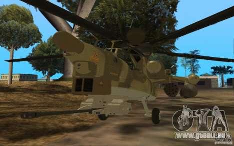 MI-28n für GTA San Andreas linke Ansicht