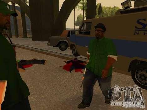 Grove Street Forever für GTA San Andreas her Screenshot