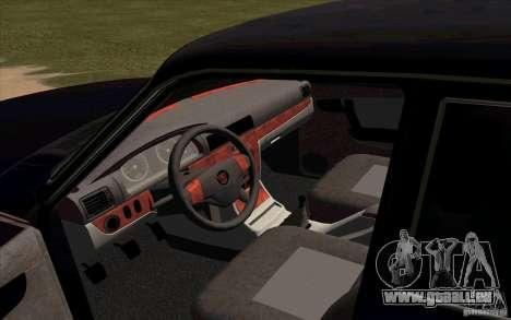 GAZ 31105 restylage pour GTA San Andreas vue de droite